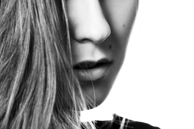 Mulher jovem e sedutora