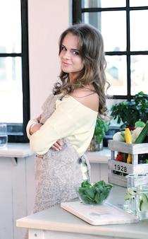 Mulher na cozinha