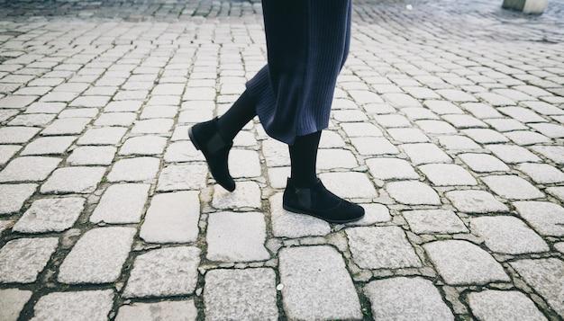 Mulheres andando pela rua