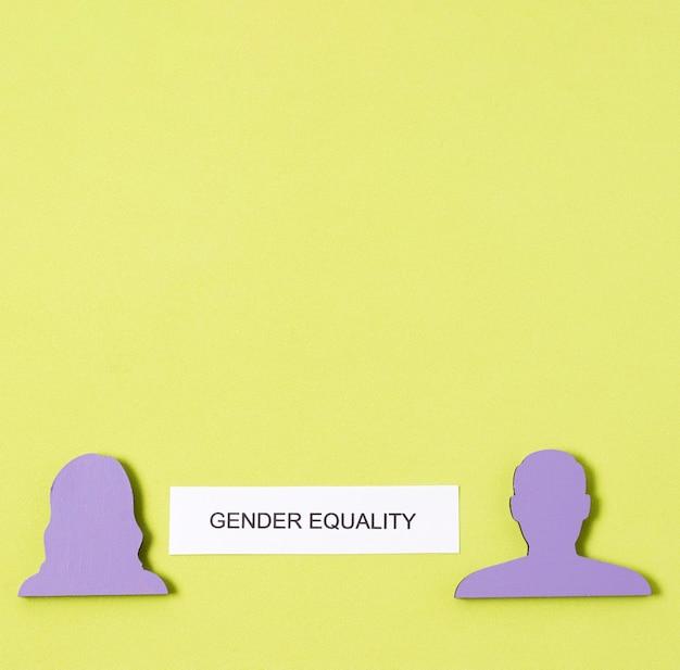Mulheres e homens são iguais aos direitos de gênero