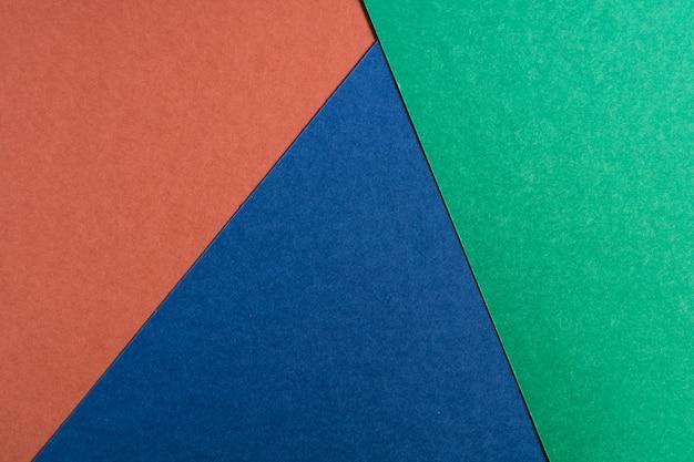 Multi colorido papel abstrato de cores pastel, com forma geométrica, plana leigos.