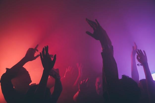 Multidão no clube