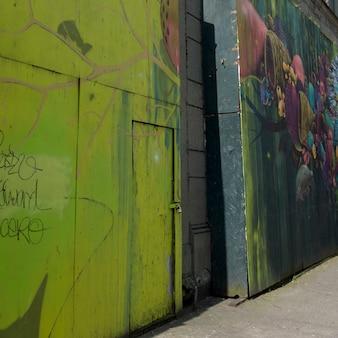 Murais de parede gigantes, seattle, estado de washington, eua