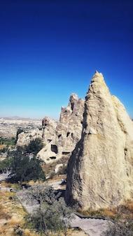 Museu a céu aberto de goreme em ortahisar, turquia