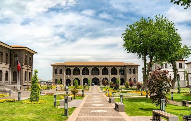 Museu arqueológico em diyarbakir, turquia