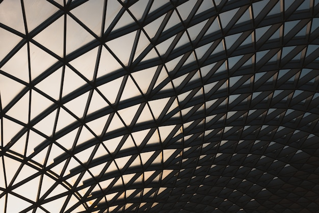 Museu britânico durante a noite na área de bloomsbury em londres, no reino unido