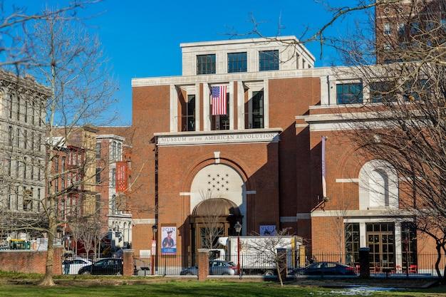 Museu da revolução americana em filadélfia, pensilvânia.