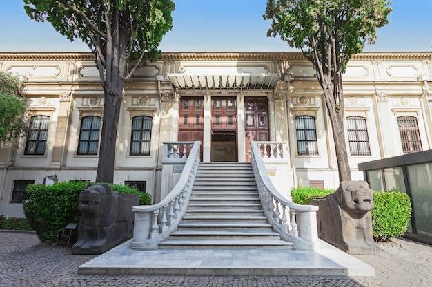 Museu de arqueologia de istambul, istambul, turquia