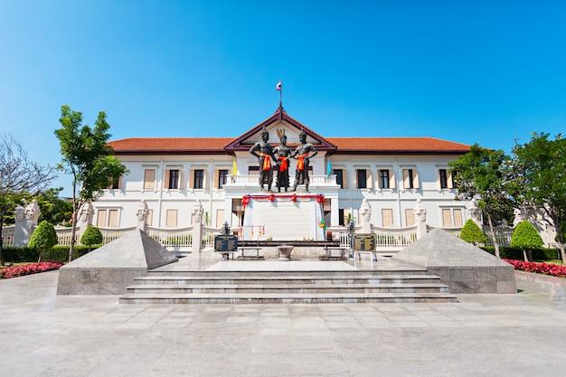 Museu de artes da cidade de chiang mai na tailândia