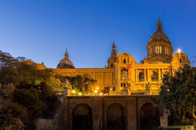 Museu nacional de barcelona, espanha
