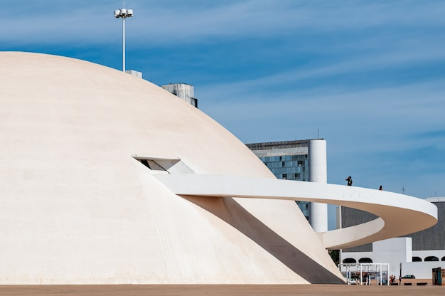 Museu nacional de honestino guimarães brasilia df brasil em 14 de agosto de 2008
