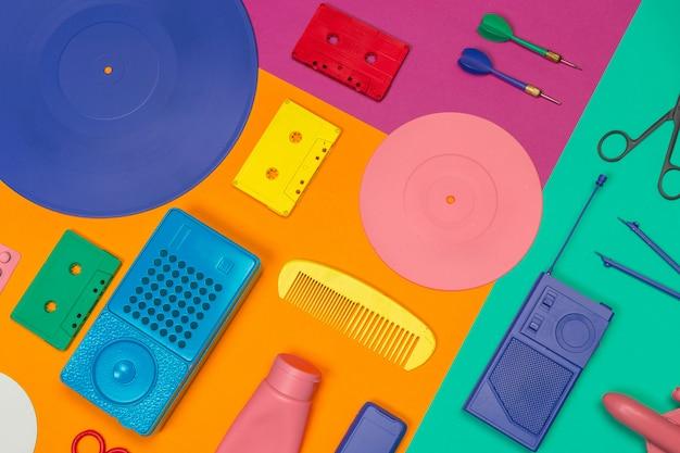 Música plana leigos objetos