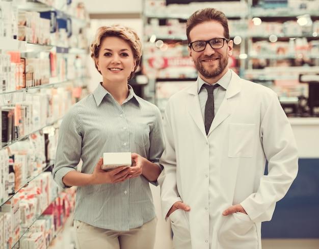 Na farmácia