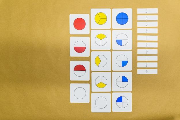 Na pedagogia montessoriana, a matemática de várias maneiras pode ser ensinada na sala de aula