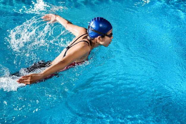 Nadadores estão nadando