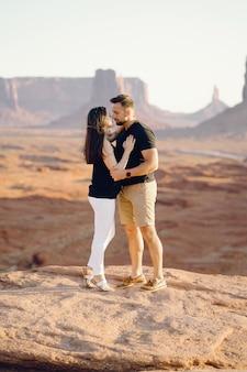 Namorado propondo a esposa no arizona