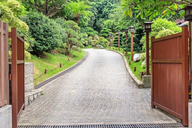 Nan lian garden, um parque público construído no estilo da dinastia tang