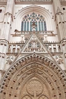 Nantes catedral esculpir