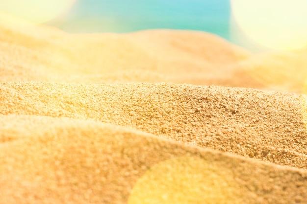 Não há lugar como uma praia ensolarada, viagens de sonho, destinos de férias e conceito de verão ...