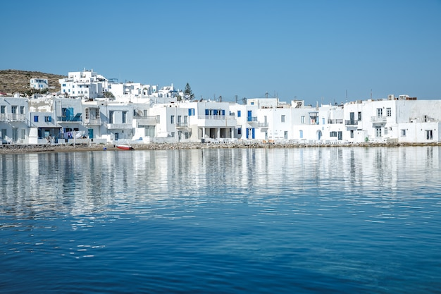 Naoussa aldeia, paros, grécia