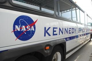 Nasa no centro espacial kennedy