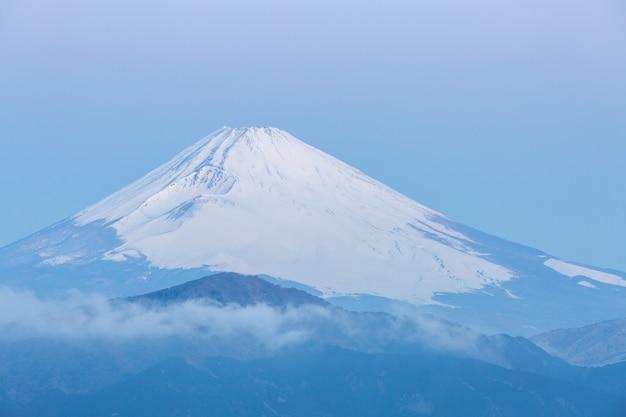 Nascer do sol de hakone do lago mountain de fuji