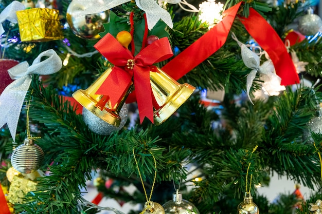 Natal e ano novo feriado.