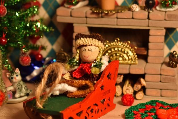 Natal em casa de boneca.