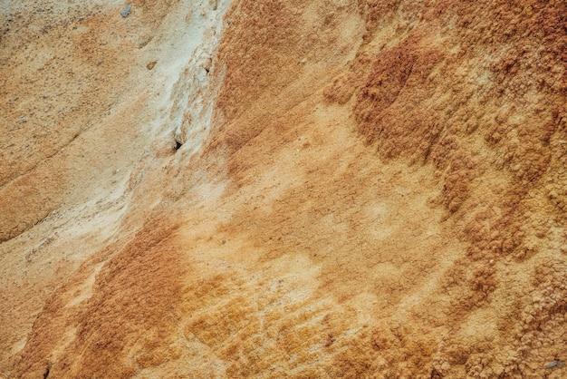 Natureza de terras secas rachadas textura natural do solo
