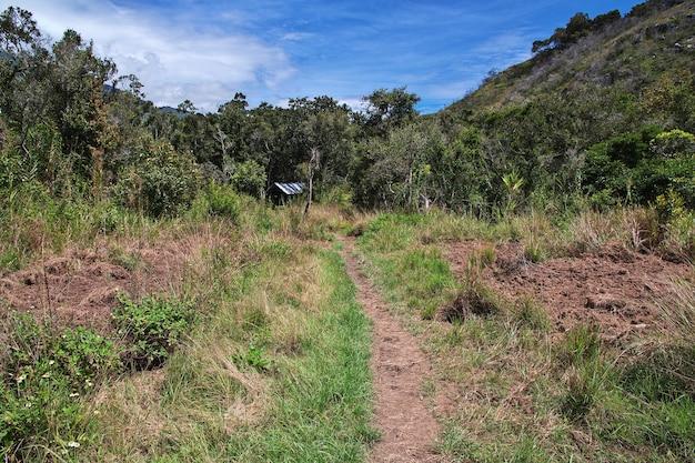Natureza do vale de wamena, papua, indonésia