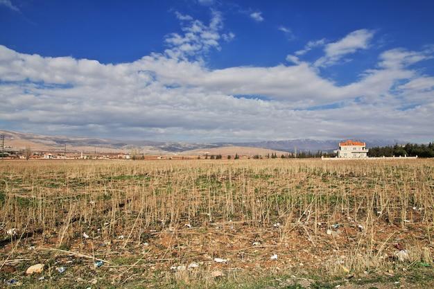 Natureza em bekaa valley of lebanon