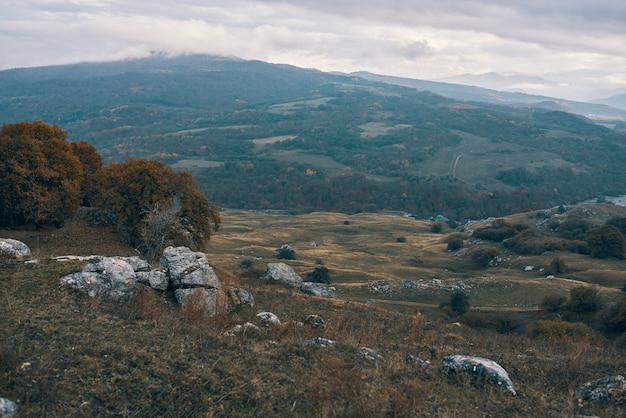 Natureza paisagem montanhas viagens aventura férias nuvens