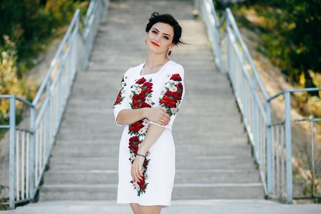 Natureza ucrânia áfrica mulher ocidental