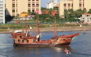 Navios ao largo baja