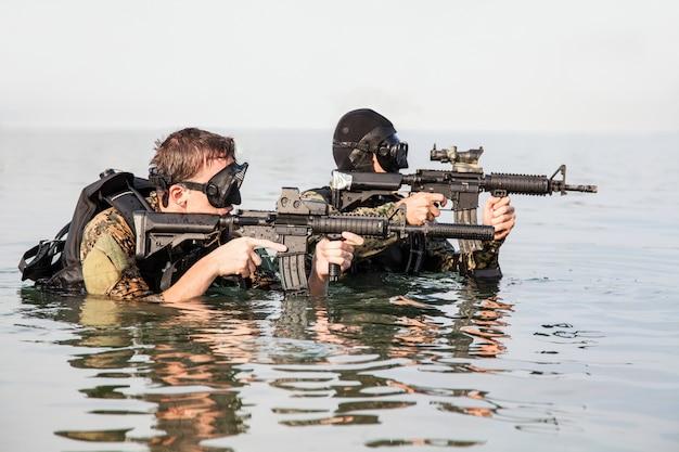 Navy seal frogmen