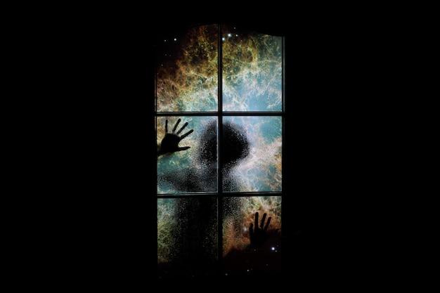 Nebulosa atrás da porta.
