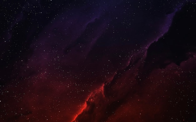 Nebulosa colorida com bilhões de estrelas e planetas. elementos desta imagem fornecidos pela nasa