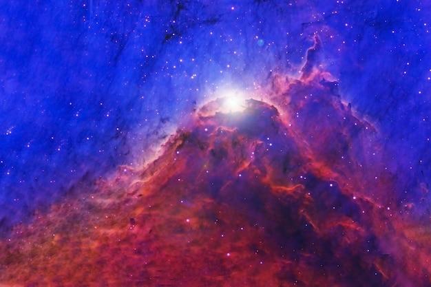 Nebulosa do espaço azul. textura de fundo. os elementos desta imagem fornecida pela nasa foram. para qualquer propósito.