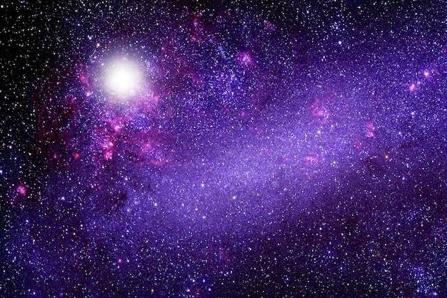 Nebulosa do espaço azultextura de fundo elementos desta imagem fornecida pela nasa