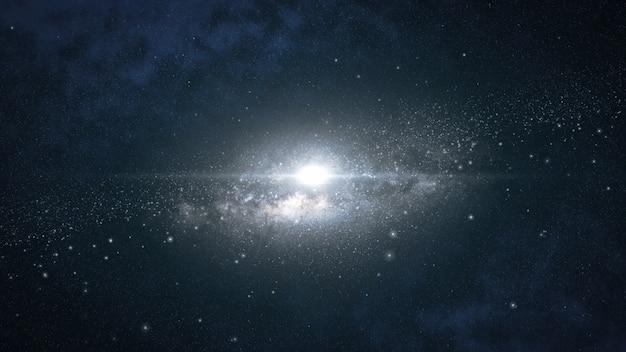 Nebulosa escura do espaço profundo