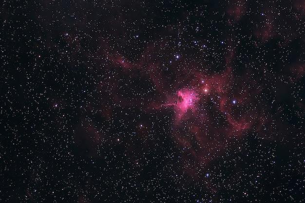 Nebulosa espacial no espaço profundo. os elementos desta imagem fornecida pela nasa foram. para qualquer propósito.