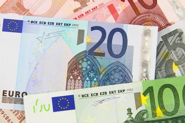Negócio de fundo de caixa conta bancária de notas