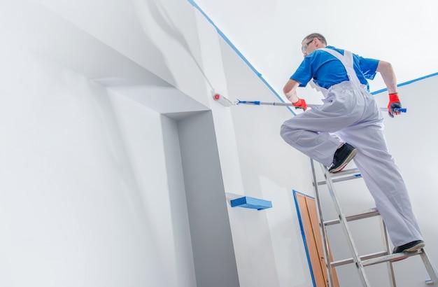 Negócio de pintura de casa