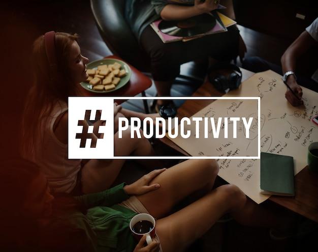 Negócio de produtividade do acordo de liderança