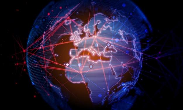 Negócio de rede global