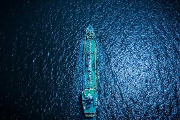 Negócio de transporte de tecnologia de petróleo e gás