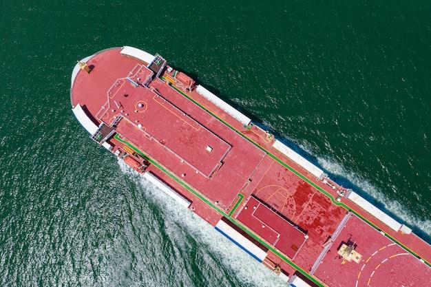 Negócio grande carga navio logística transporte internacional exportação e importação serviços