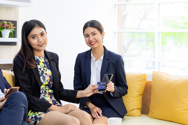 Negócios em mobile banking