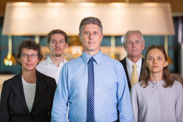Negócios hierarquia empresário negócios séria