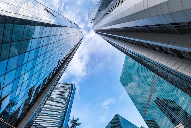 Negócios imobiliários e investimentos financeiros de singapura
